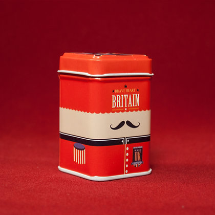 caja metálica Britain