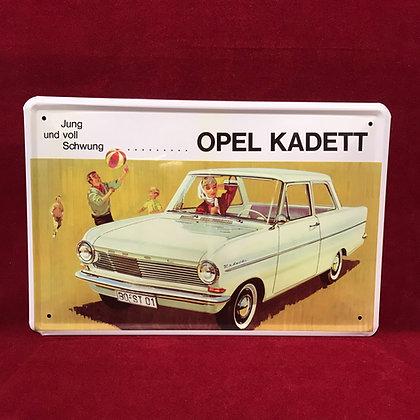 Placa Opel Kadett