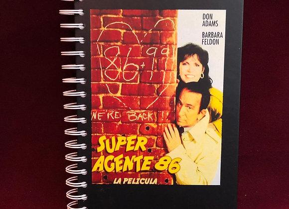 Cuaderno súper agente 86