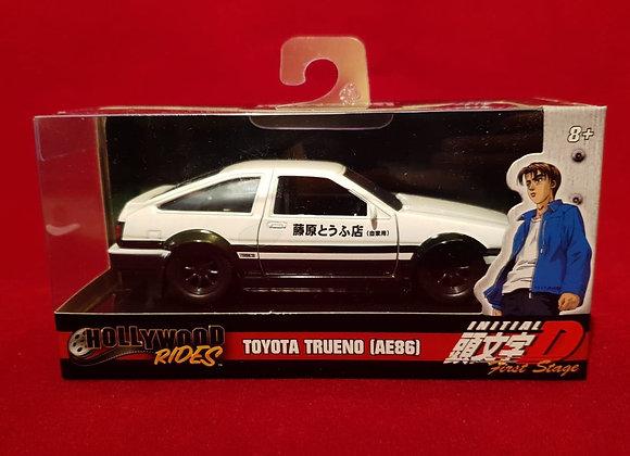 Carro Toyota Trueno escala 1:32 initial D