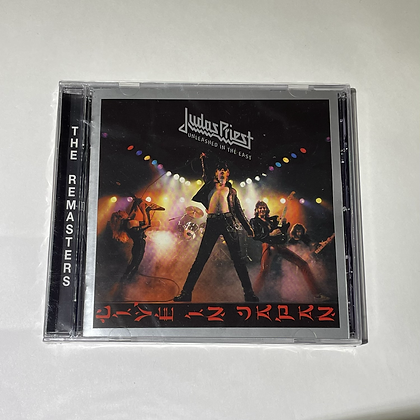 Cd Judas Priest Unleashed in the East