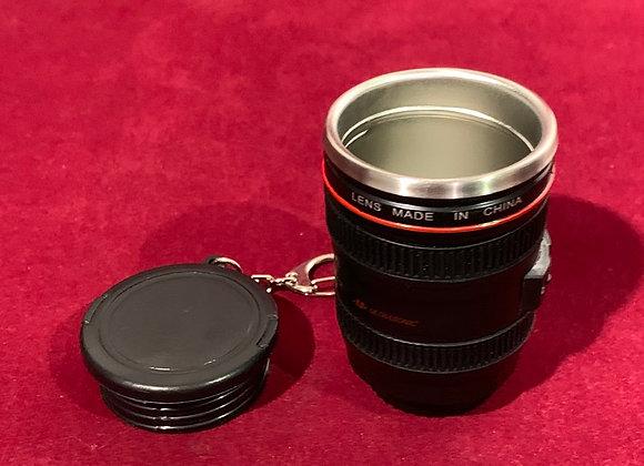 Llavero y copa forma de lente