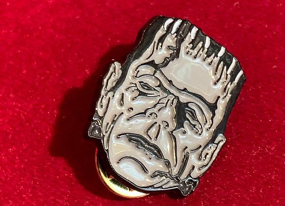 Pin frankestein metálico