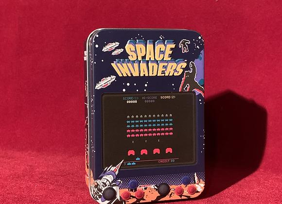 Juego de cartas space invaders poker