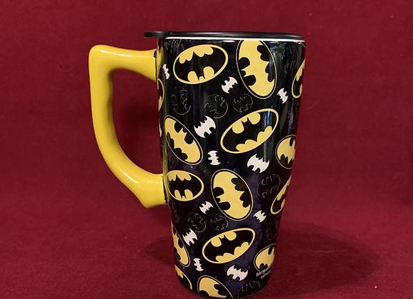 Mug travel Batman cerámica 18 onz