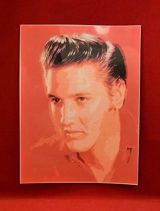 Afiche Elvis Presley
