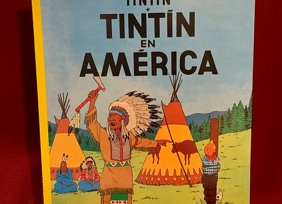 Libro Tintin en America