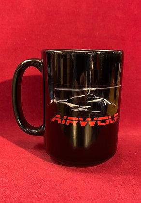 Mug Airwolf (lobo del aire) 15 onz
