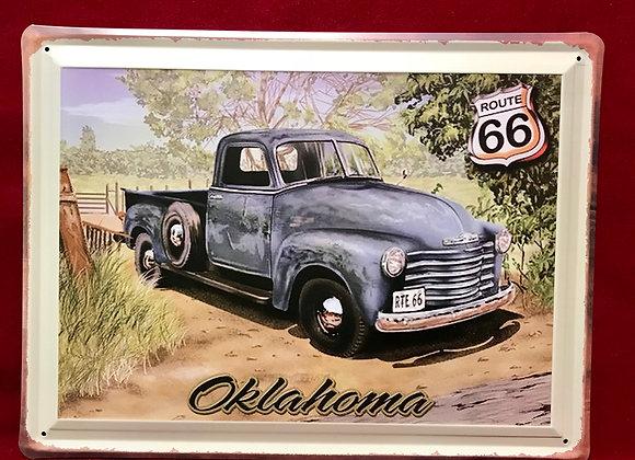 Placa Oklahoma