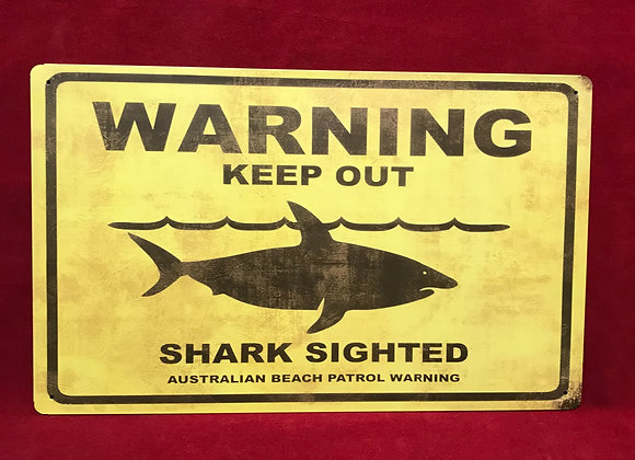 Placa Warning