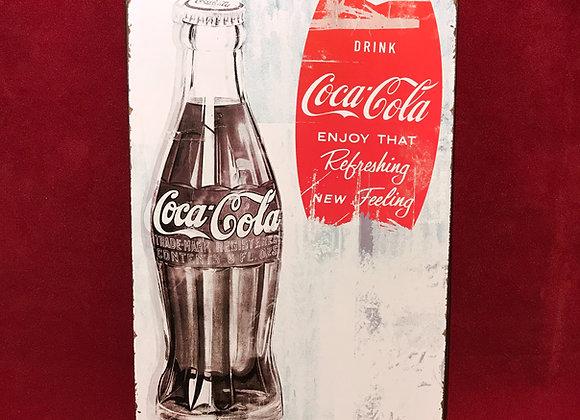Placa Coca-Cola