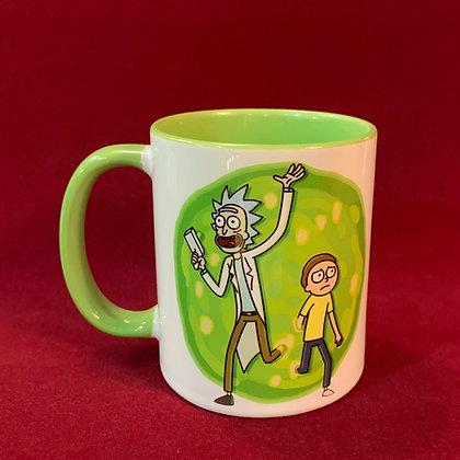 Mug Rick and Morty