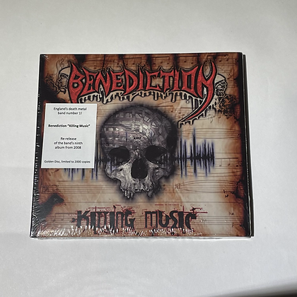 Cd Benediction Killing Music