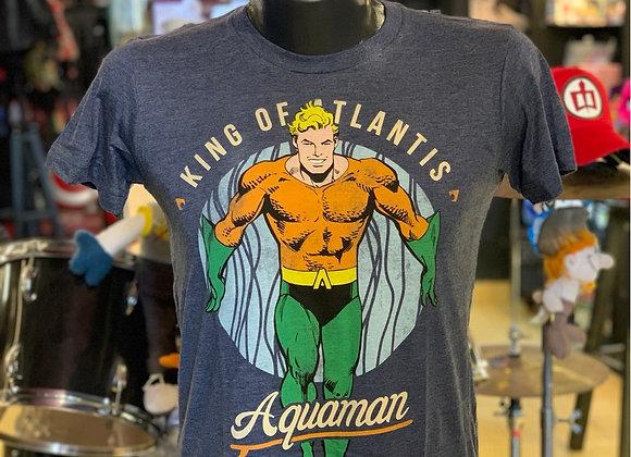 Camiseta Aquaman mascara de látex