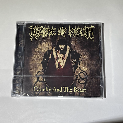 Cd Cradle of Filth Cruelty and the Beast