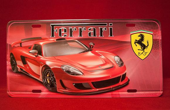 Placa Ferrari