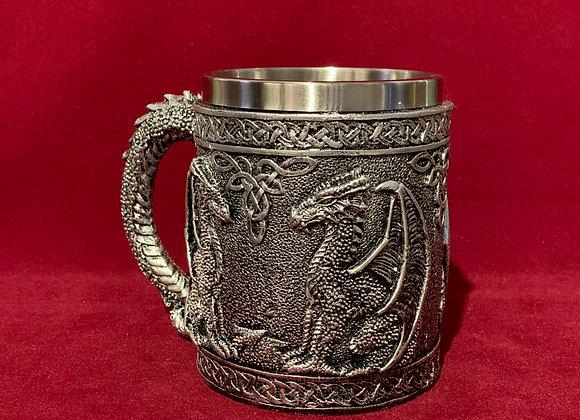 Mug 3D Dragones Resina
