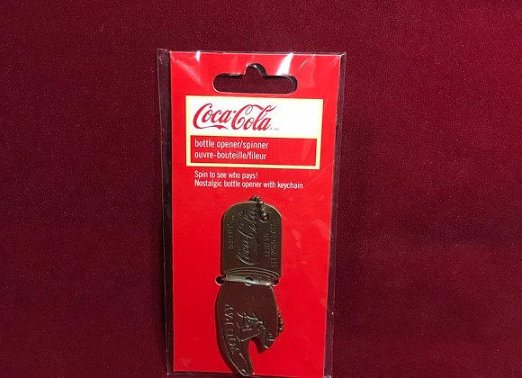 Llavero destapador Coca Cola