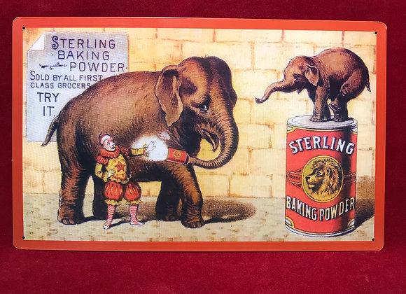 Placa Sterling
