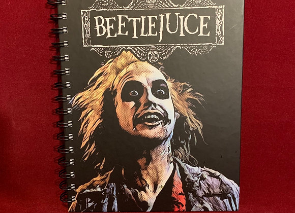 Cuaderno Beetlejuice