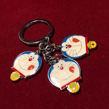 Llavero metálico Doraemon