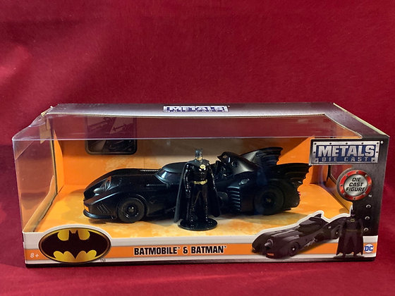 Batmobile 1989 escala 1.24