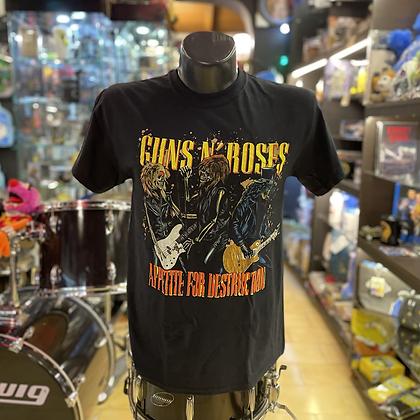 Camiseta Guns and roses Oficial