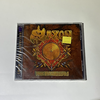 Cd Saxon Into the Labyrinth