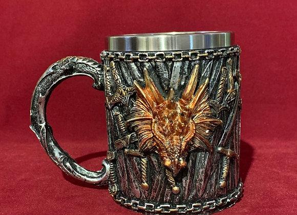 Mug 3D dragón
