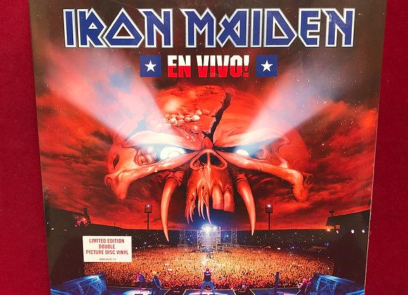 Iron Maiden en vivo ( picture vinyl )