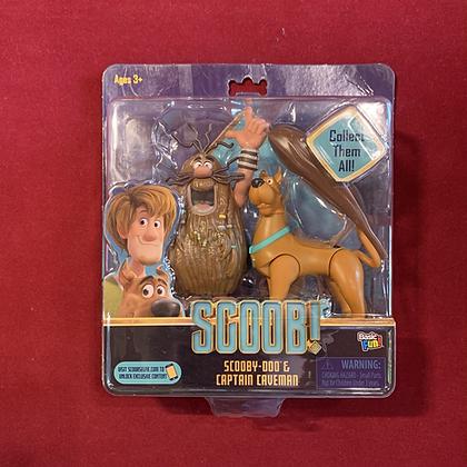 Figura Capitán Cavernícola y scooby Doo