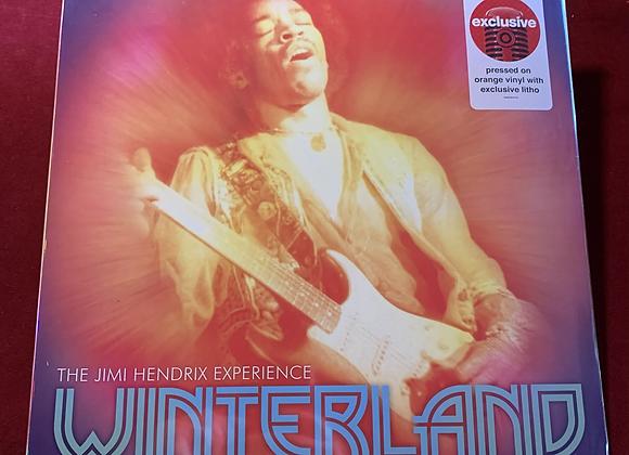 Vinilo Jimi Hendrix color