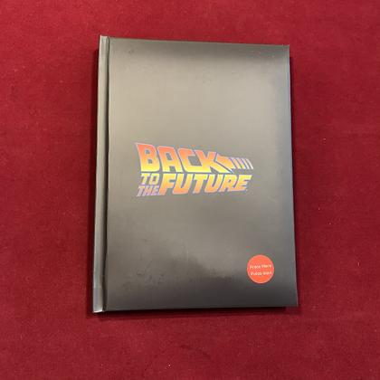Libreta back to the Future con luz