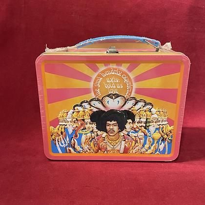 Lonchera metálica Jimmi Hendrix