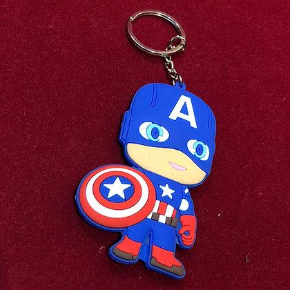 Llavero Capitán América  goma