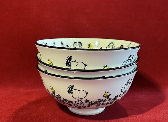 Set Bowl x 3 Snoopy