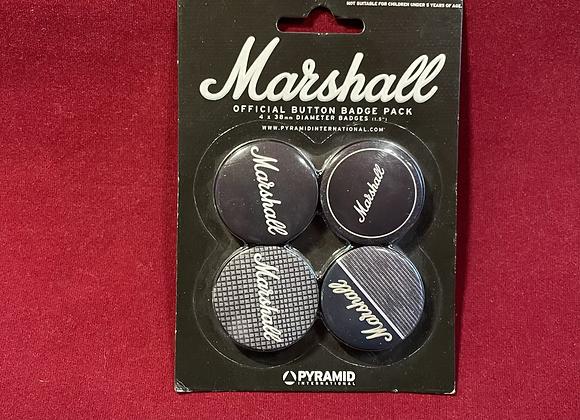 Set Botones x 4 Marshall Oficial