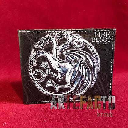 Billetera Game of Thrones Targaryen