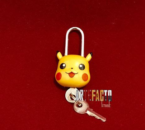 Candado 3D pikachu pokemon