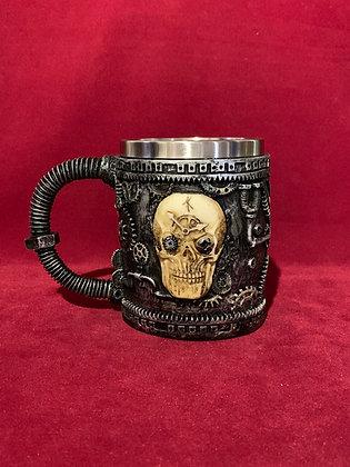 Mug 3D resina calavera