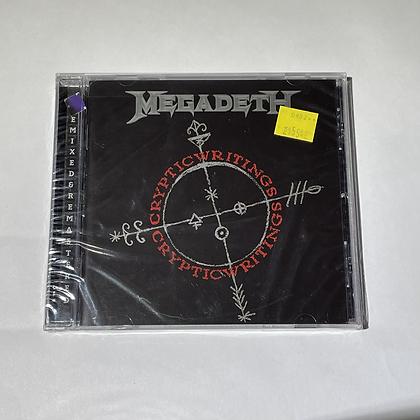 Cd Megadeth Cryptic Writings