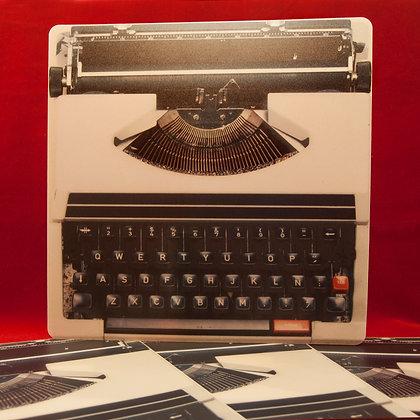 Individuales Máquina de Escribir