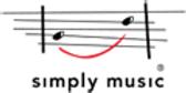 Simply Music Piano logo