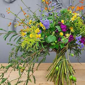Bouquet con estructura