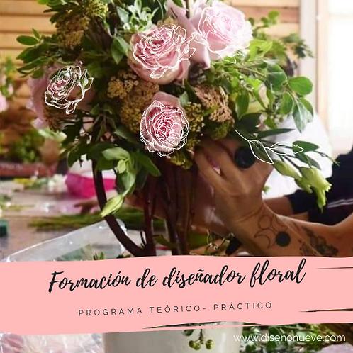 Curso de formación de diseñador floral