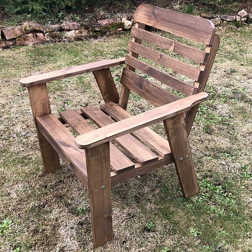 """Кресло деревянное """"Фазенда"""""""