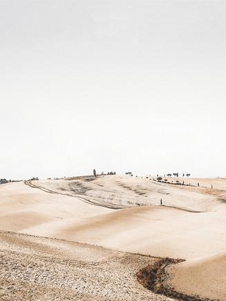 Landschap van de woestijn