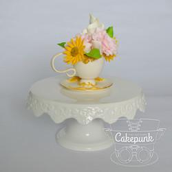 Teacup & Flowers