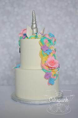 Unicorn Cake Back