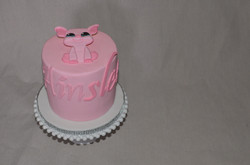 "Littlest Pet Shop ""Pink"" Cake"